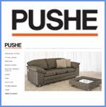 Мебельный интернет-магазин PUSHE под управлением системы UlterSuite